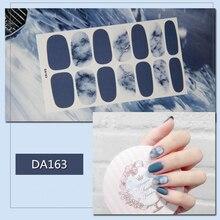 1 Sheet Nail Salon DIY Tips Nails Glitter Striping Line Nail Stripes Soild Waterproof 3D Nail Art Sticker Foils Decals Drop Ship one sheet stylish color block glitter nail art sticker