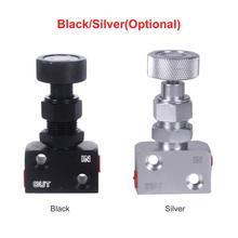 Высококачественный алюминиевый тормозной клапан винтового типа, регулируемая опора, регулятор смещения тормозов для универсального гоночного автомобиля