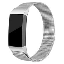 Stainless Steel Strap For Fitbit Charge3 Watch Band Smartwatch Strap Replacement Link Bracelet wrist watchband Magnetic Buckle недорого