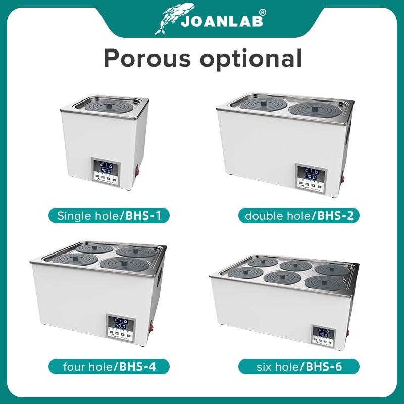 JOANLAB Laboratory Water Bath Constant Temperature LCD Digital Display Lab Equipment Thermostat Tank 6 4 2 1 Single Hole 220v 2