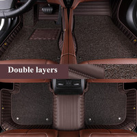 High quality mats! Custom special car floor mats for BMW X5 G05 2020 durable waterproof double layers car carpets for X5 2019