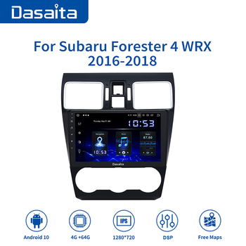 Dasaita 9 HD IPS Screen Car Radio Android 10.0 for Subaru Forester WRX Levorg 2016 2017 2018 GPS Bluetooth HDMI Output 64G ROM image