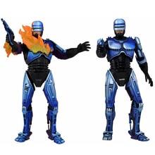 Экшн-фигурки аниме «робокоп» размером около 7 дюймов 1987 ограниченная синяя версия Игрушка-фигурка из ПВХ RoboCop