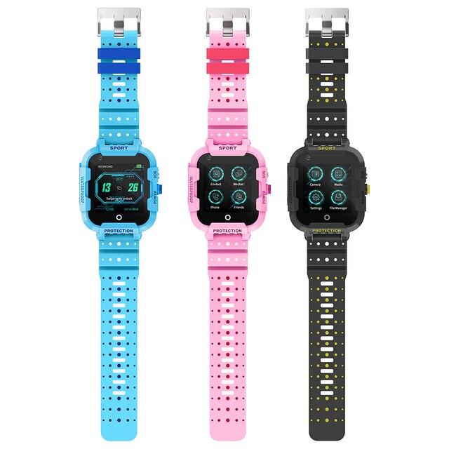 DF39 Kids Smart Watch 4G Sim Card Gps Wifi Lbs Tracker Watch Sos Call 1.4 Inch Camera Children Baby Tracking Clock Gift 3