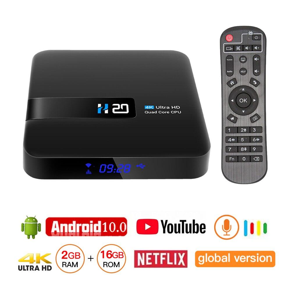IPTV BOX Android 10 4K Media Player 3D Video Youtube Netflix 2GB 16GB Smart WIFI Set Top Box TV Receiver Spain France IP TV Box
