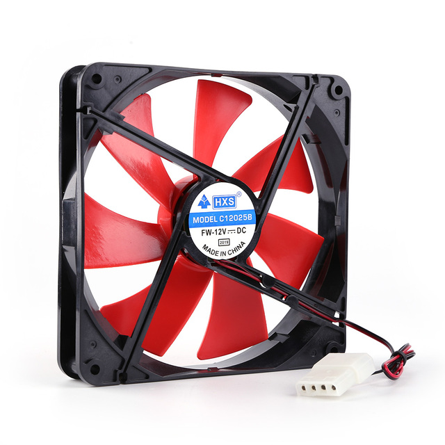 140mm 4 Pin Speed Adjustable Silent PC Case Cooling Fan CPU Cooler Fan 12V Computer components and hardware