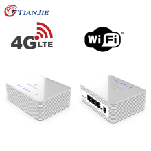 Modem 3g Cpe 4g Hotspot Wifi zewnętrzny gigabitowy most bezprzewodowy punkt dostępu Lte Antena Wi-Fi dla routerów z gniazdo karty Sim tanie tanio TIANJIE CN (pochodzenie) wireless 100 mbps 1x10 100 Mbps Brak 2 4g 150 mbps R104-12 Wi-fi 802 11g 802 11n Firewall Domu