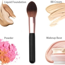 Makeup Brush Powder Face Brush Blush Make Up Tool Makeup Brush Face Cheek Cosmetic Powder недорого