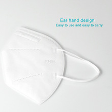 20pc 5 layer N95 Mask ffp2 Mouth Caps Mask Virus Dust Respirator Washable Reusable Masks Cotton Unisex Mouth Muffle for Allergy