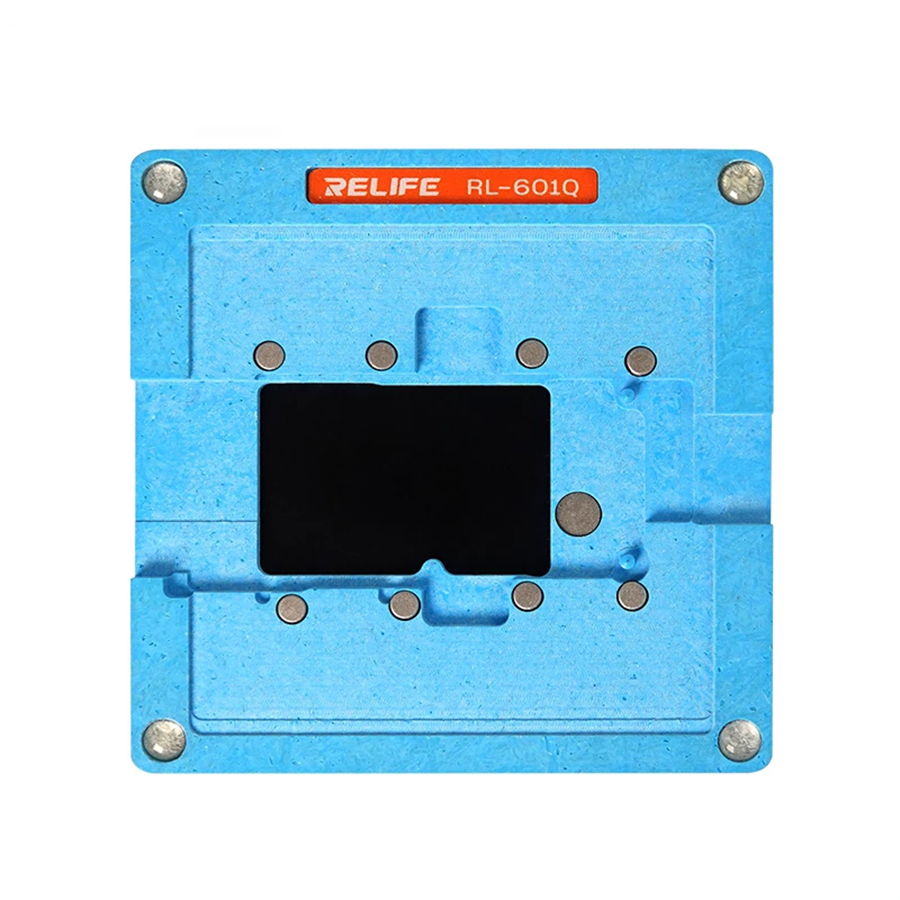 Sunshine SS-601Q 6 IN 1 Planting Tin Template Fixture for iPhone X-11Pro MAX Motherboard Middle Frame BGA Reballing Stencil Tool 4