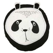 Cartoon Panda Cotton Kids Game Round Pad Baby Room Decoration Carpet Children Crawling Mat