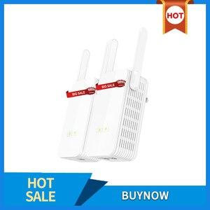 Image 1 - 1 زوج GLVISION GLP15 1000Mbps PLC محول الشبكة اللاسلكية موسع واي فاي ، IPTV ، Homeplug AV باورلاين إيثرنت محول PLC