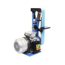 220V/380V Abrasive Belt Machine Vertical Sander Belt Grinder Polisher Woodworking Sanding Grinding Polishing Machine Sharpener