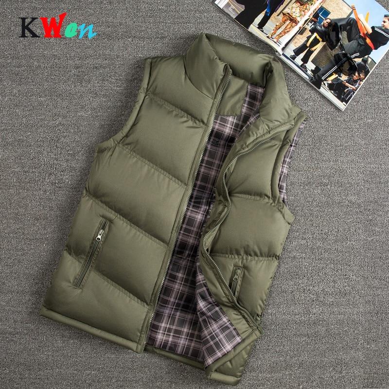 4XL Vest Men New Stylish Autumn Winter Warm Sleeveless Vest Jacket Men Slim Fit Vest Casual Coats Mens Waistcoat West Mannen 698