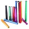 3 шт разноцветные  алюминиевые трубки для дыма из сплава  портативная металлическая трубка для нюхания  трубка для носа