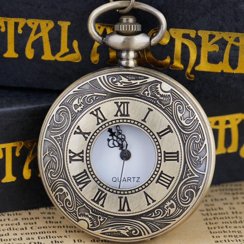 Steampunk cep saati içi boş durumda eski Fob cep saati es kolye kolye hediye cep saati