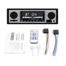 Vintage Car Audio Bluetooth reproductor MP3 ESTÉREO FM multifunción Auto receptor