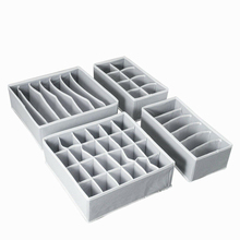 АА складное нижнее белье органайзеры для ящиков перегородки шкаф комод для хранения одежды органайзер коробка для бюстгальтеров шарфы Гал...