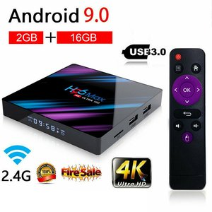 H96 Max Rk3318 Android 9.0 Set