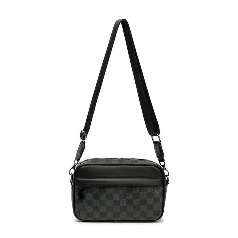 Fashion Shoulder Bag Men Famous Brand Design Style PU Material Sling Bag Men Crossbody Bags For Men Chest Bag For Men