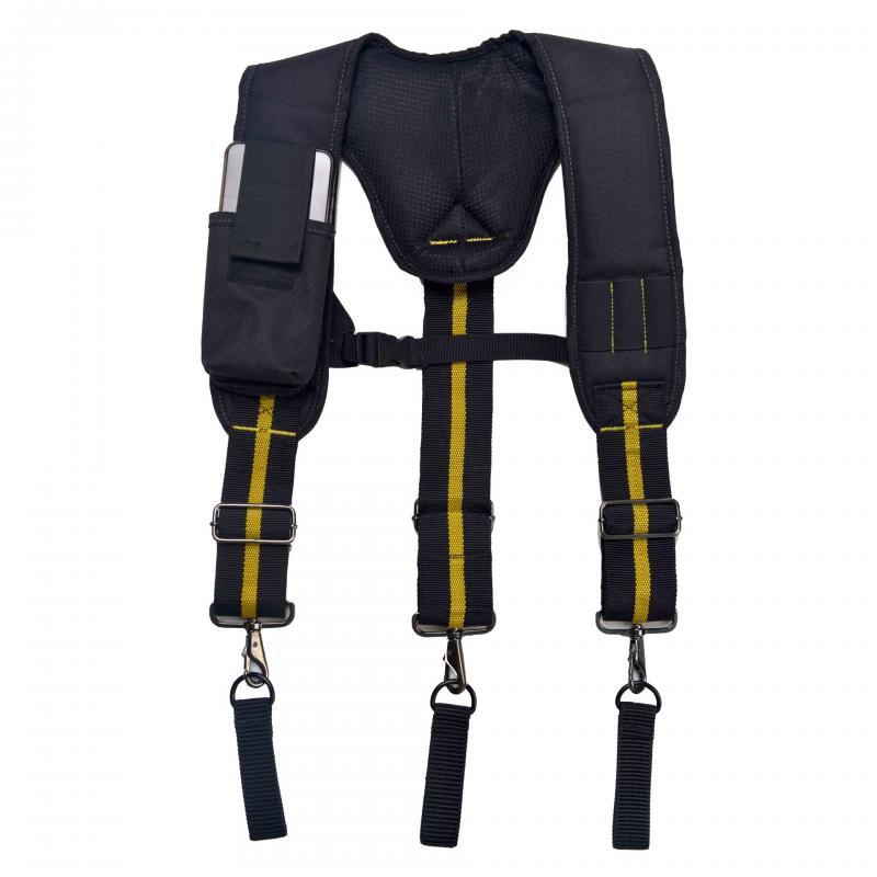 Suspender Y-Shaped Hangable Tool Bag  Suspender Multifunctional tool suspenders Tool Heavy Duty Work Tool Belt To Reduce