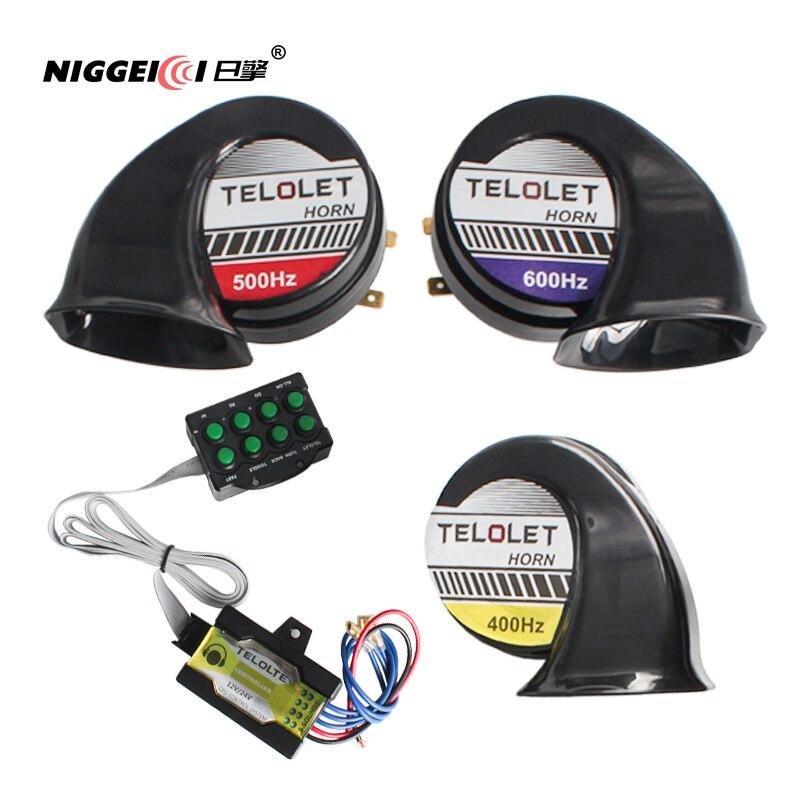 Автомобильный звуковой сигнал, 12 В, 400 дБ, 500 Гц/600 Гц