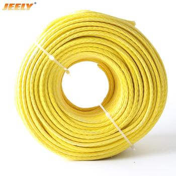 JEELY 500M 2645lbs uhmwpe hollow braided winch rope 3.5mm 12weave