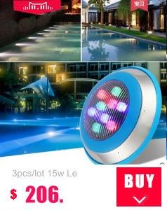rgb led pool light