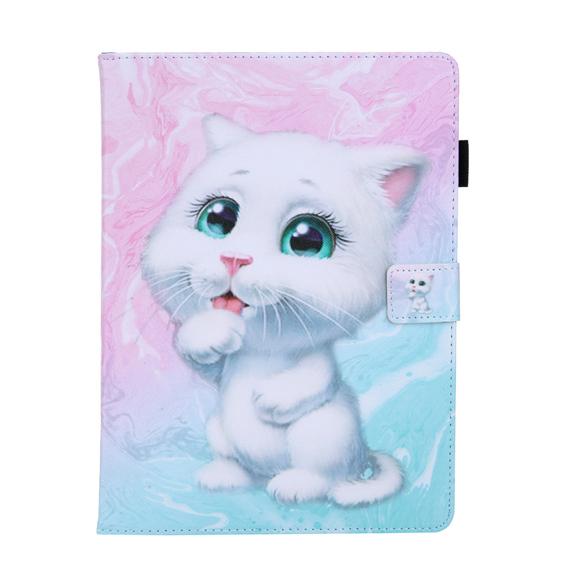 G Purple Tablet Cover For Apple IPad Air 4 10 9 inch 2020 Cartoon Leather Case For Ipad