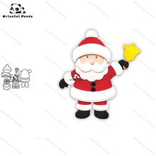 New Dies For 2020 Santa Claus Metal Cutting Dies diy Dies photo album  cutting dies Scrapbooking Stencil Die Cuts Card Making carbon steel santa cutting die for diy