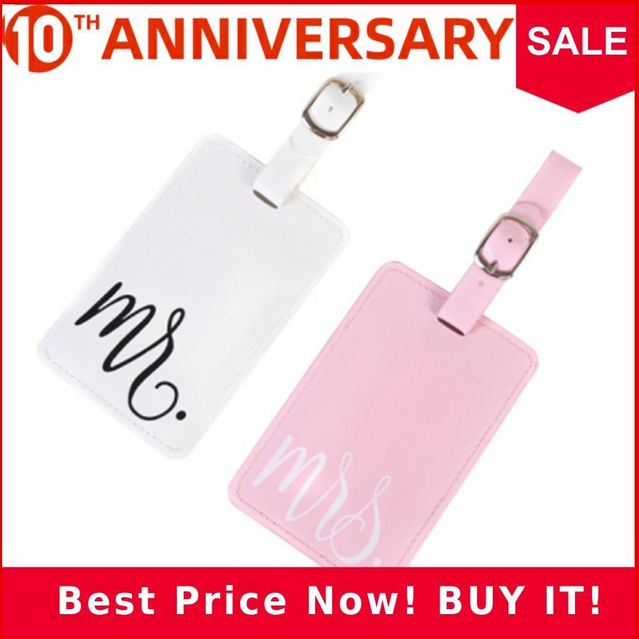 Hot Sale MR&MrS Suitcase Luggage Tag Bag Pendant Travel Accessories Name ID Address Wedding VIP Invitation Label LT33B