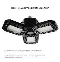 UFO LED Garage Light AC85-265V E26/E27 60W Garage Lamp Waterproof  Deformable Industrial Lighting Workshop Light