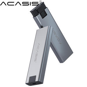 Корпус NVME M.2 для твердотельных дисков, прозрачный корпус для жесткого диска NVME PCIE NGFF SATA M/B с разъемом USB Type-C