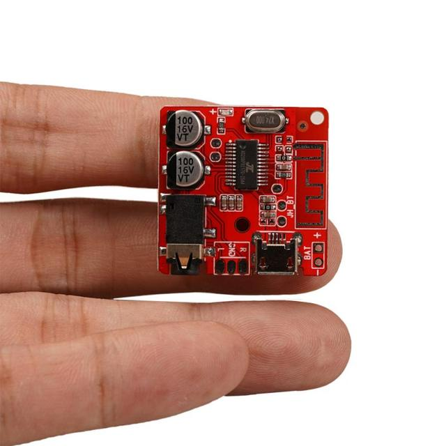 Bluetooth 5.0 Audio Receiver Board MP3 MP3 Lossless Decoder Board Wireless Music Player For Car Home Speaker DIY Kits