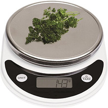 Digital Kitchen Scale 10kg Food Scale Multifunction Weight Scale Electronic Baking & Cooking Scale with LCD Display Silver digital kitchen food scale 22lbs 10kg precision food scale lcd display tempered glass surface touch screen