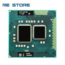 Intel Core i7 640M 2,8 GHz 2 Core 4M Processeur Buchse G1 Tragbare CPU SLBTN