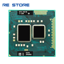 Intel Core i7 640M 2.8GHz 2 Core 4M Processeur Socket G1 Portable CPU SLBTN