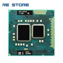 インテルコア i7 640 メートル 2.8 2.4ghz 2 コア 4 メートル Processeur ソケット G1 ポータブル CPU SLBTN