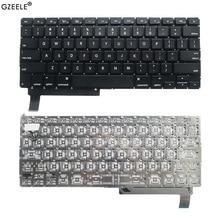 "GZEELE США Клавиатура ноутбука для APPLE Macbook Pro 1"" A1286 MB470 985 986 MC372 371 373 721 2009 2010 2011 2012 ноутбук Английский"