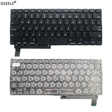 "GZEELE חדש בארה""ב מחשב נייד מקלדת עבור APPLE Macbook Pro 15 ""A1286 MB470 985 986 MC372 371 373 721 2009 2010 2011 2012 מחשב נייד אנגלית"