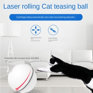 Cat Teaser Toy Smart LED Flash