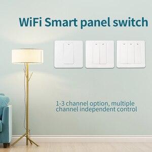 Image 3 - Lonsonho eWeLink Smart Wifi Interruttore 1 2 3 Gang Pulsante EU UK 220V Telecomando Senza Fili Funziona Con alexa Google Casa Tmall