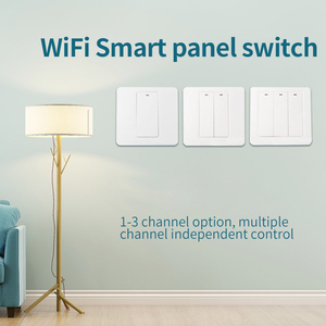 Image 3 - Lonsonho eWeLink Smart Wifi Switch 1 2 3 Gang Push Button EU UK 220V Wireless Remote Control Works With Alexa Google Home Tmall
