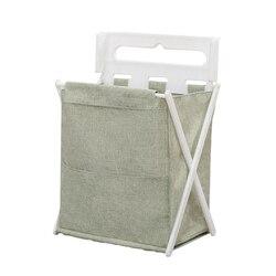 Składany kosz na bieliznę kosz w kształcie wiadra do przechowywania kosz na bieliznę sortownik brudne torba na ubrania dla dzieci kosz do przechowywania zabawek łazienkowa torba do przechowywania|Kosze na pranie|   -