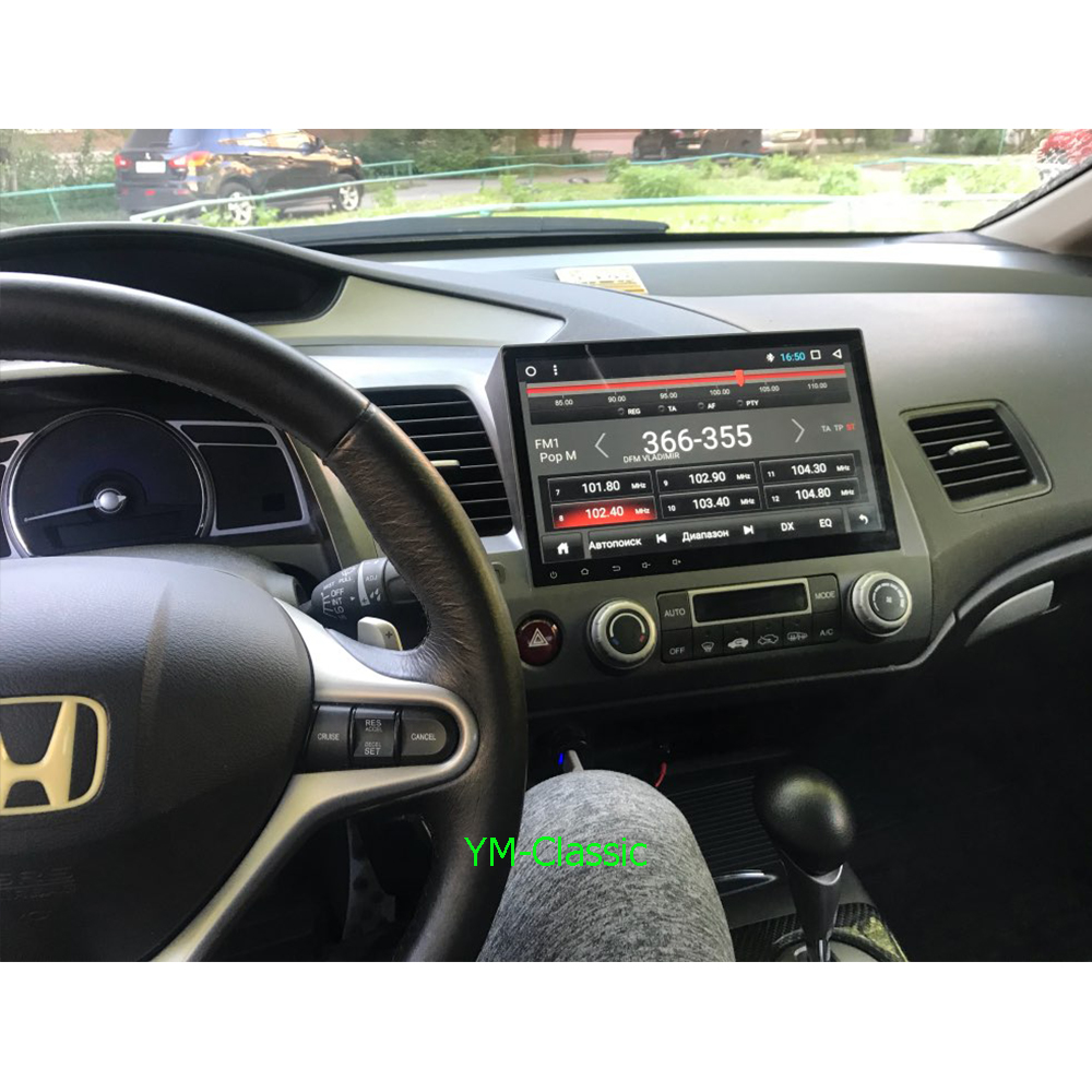 Image 4 - Eight Core/Android 9.0 Car Multimedia Player DVD Gps For Honda Civic 2006 2011 Radio IPS Screen 2DIN 10.1inch Radio Video BT2 din 10.12 dindvd car gps -