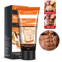 Мощный крем для мышц брюшного пресса сильный антицеллюлитный