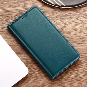 Babylon Genuine Leather Case For Xiaomi Redmi Note 2 3 4 5 6 7 8 8T 9 9S Pro Max K20 K30 Pro S2 Go Flip Wallet Phone Cover