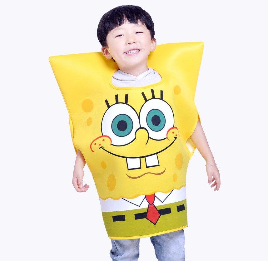 New Style CHILDREN'S DAY Children's Day CHILDREN'S SpongeBob Performance Costume Cartoon Doll Stage Costume Manufacturers Custom