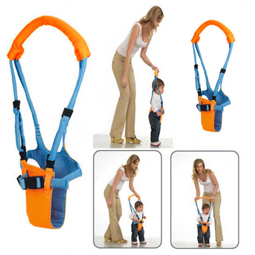 Dziecko maluch uprząż dzieciak bramkarz bramkarz Jumper dowiedz się uprząż dla niemowląt plecak do księżyca Walker asystent dziecko smycze pas spacerowy