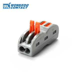 Wire Connector Terminals 222 4 Pole Quick Push In Plastic Material PA66 Fast Connectors 10PCS(China)